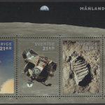 Schweden - postfrisch - Block 58 - 50 Jahre Mondlandung 2019