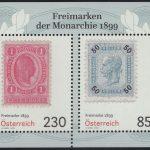 Österreich - Block 121 - postfrisch - Klassische Briefmarken 1899